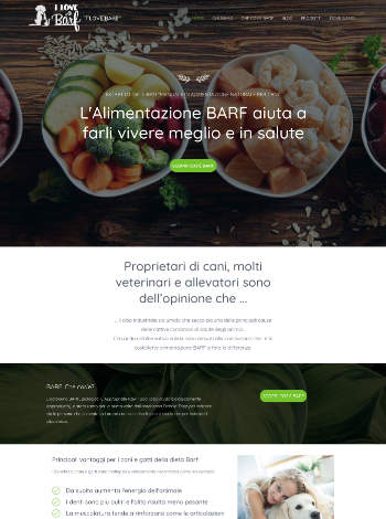 Sito Web WordPress Jaume Garcia Milano ILoveBarf.it